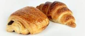 croissant and chocolat bread image
